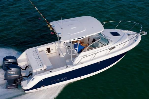 2017 robalo r245 walkaround power boat for sale www for Robalo fish in english