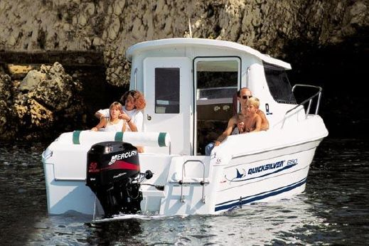 2005 Quicksilver 650 Pilothouse