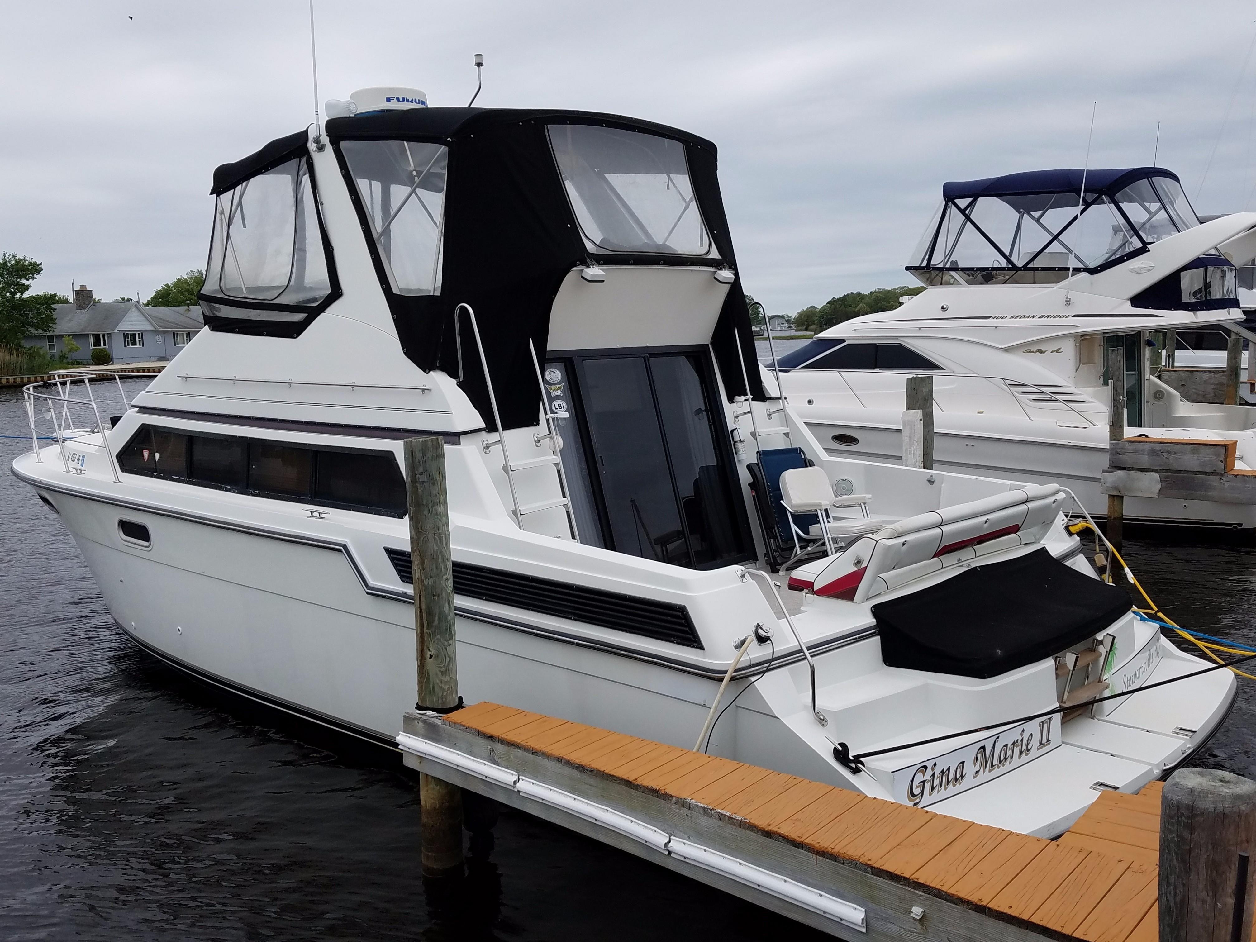 1989 Carver 3867 Santego Power Boat For Sale Www