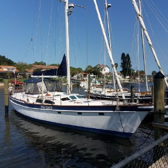 1989 Irwin 54 Tall Rig 3 Stateroom Cutter