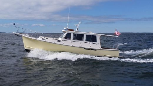 2000 Zimmerman Marine Z36  Semi Custom Downeast