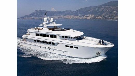 2008 Luxury Steel Yacht 41m Expedition