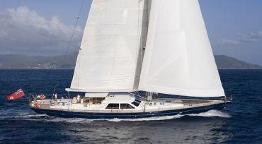 2005 Danish Yacht / Holland Jachtbouw Long Distance Luxurious Cruising Sailing Yacht