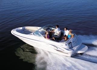 2001 Sea Ray 210 Sundeck