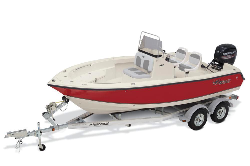 Mako 184 Center Console Fishing Trailerable boat cover