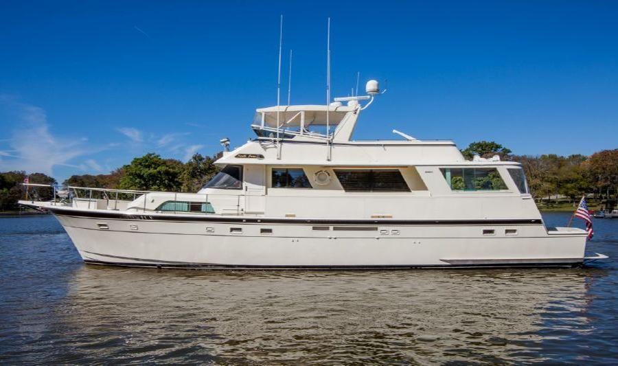 1986 Hatteras 63 Motoryacht