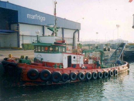 1965 Tugboat Ex-Foss D Tug