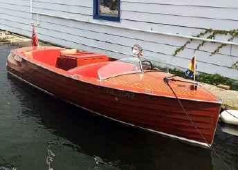 1933 Port Carling 21 Seabird Runabout