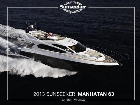 2014 Sunseeker Manhattan 63