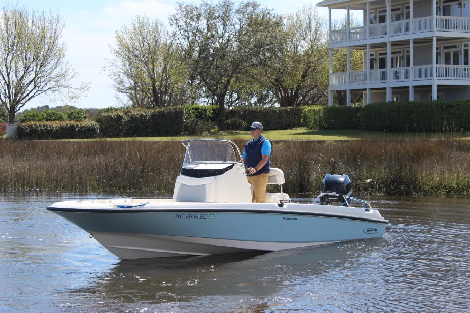 2016 Boston Whaler 210 Dauntless Power Boat For Sale - www