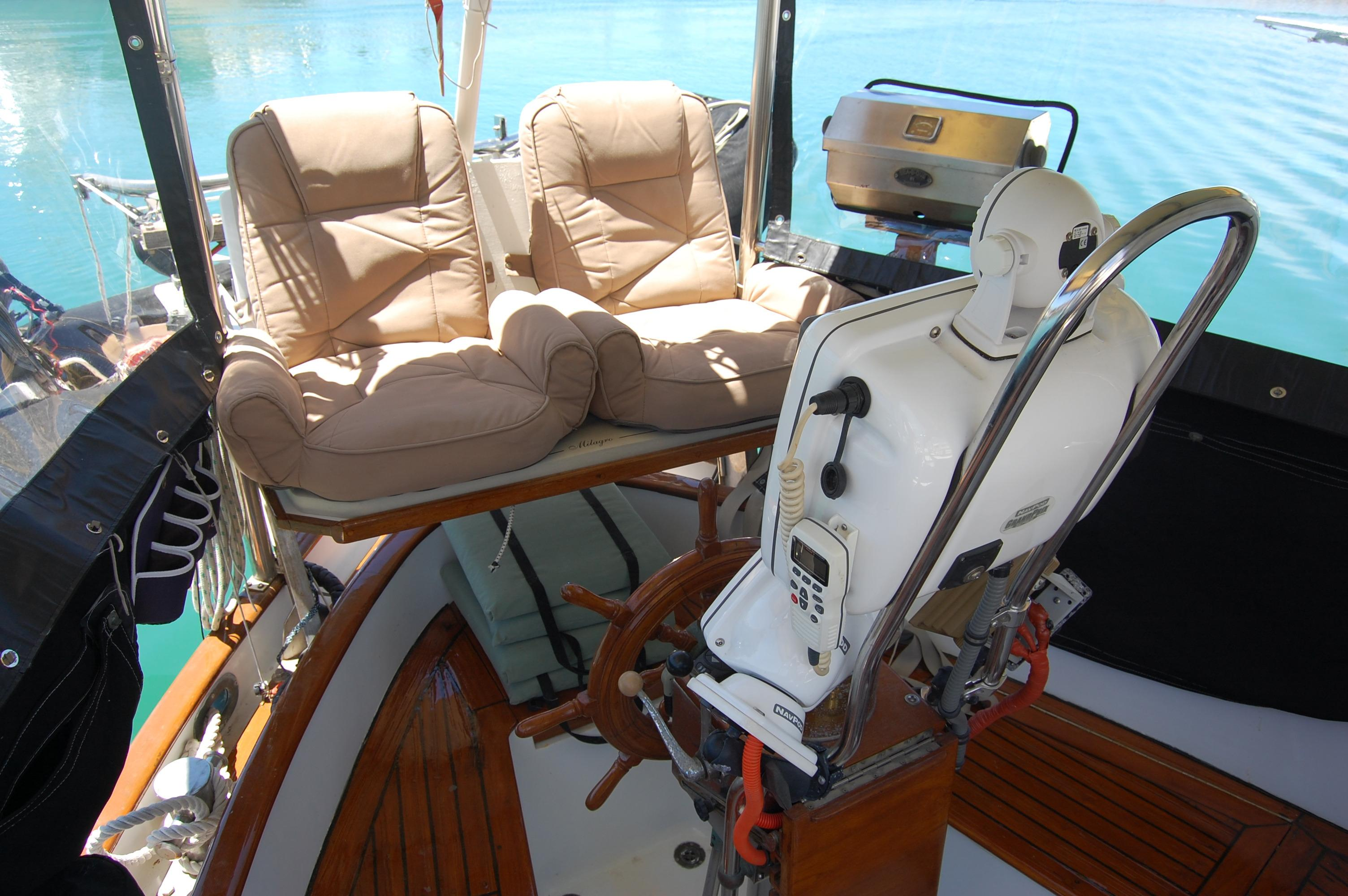 43' Spindrift Pilothouse Cutter+Photo 12