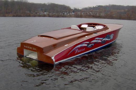 2005 Custom Fred Heim Offshore Runabout