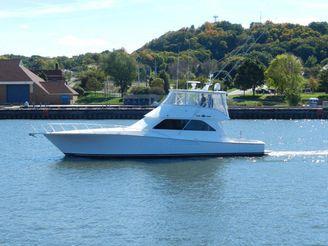 2001 Viking 55 Convertible