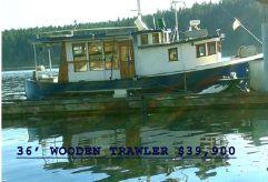 1960 Mahy Fishing Boat Conversion
