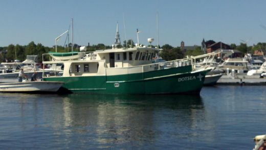 1996 Custom Steel Pilothouse Trawler