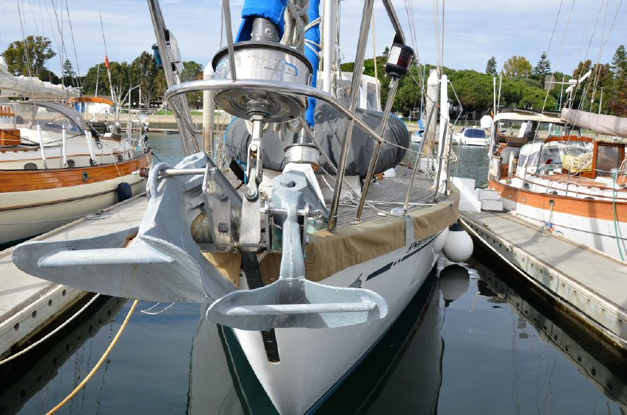 Mason 53 Sailboat Dual Anchors