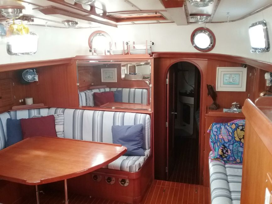 Mason 53 Sailboat Interior Salon