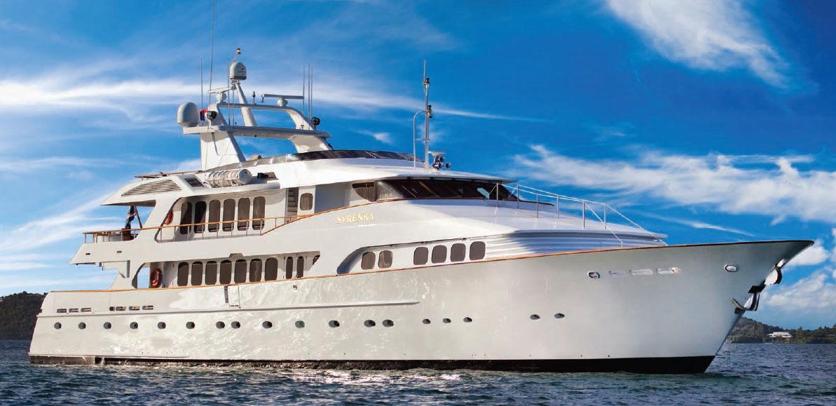 137 ft 1994 palmer johnson motor yacht