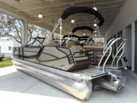 2018 Crest Continental 250 SLR2 Pontoon Boat