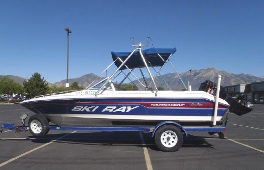 1995 Sea Ray 190 Ski Ray Tournament BR
