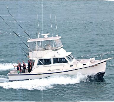 2006 Nauset Flybridge Wayne Beal Lobster Boat Offshore Tuna Lobster Yacht