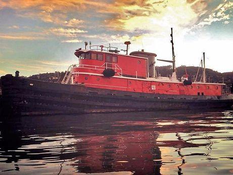 1955 Custom Luxury Converted Tugboat