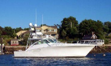 2001 Cabo Yachts 45 Express