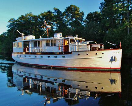"1939 Trumpy ""61"" Houseboat"