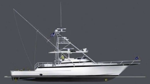 2017 Euro Marine Ltd Raised Helm Deck Express Fisherman