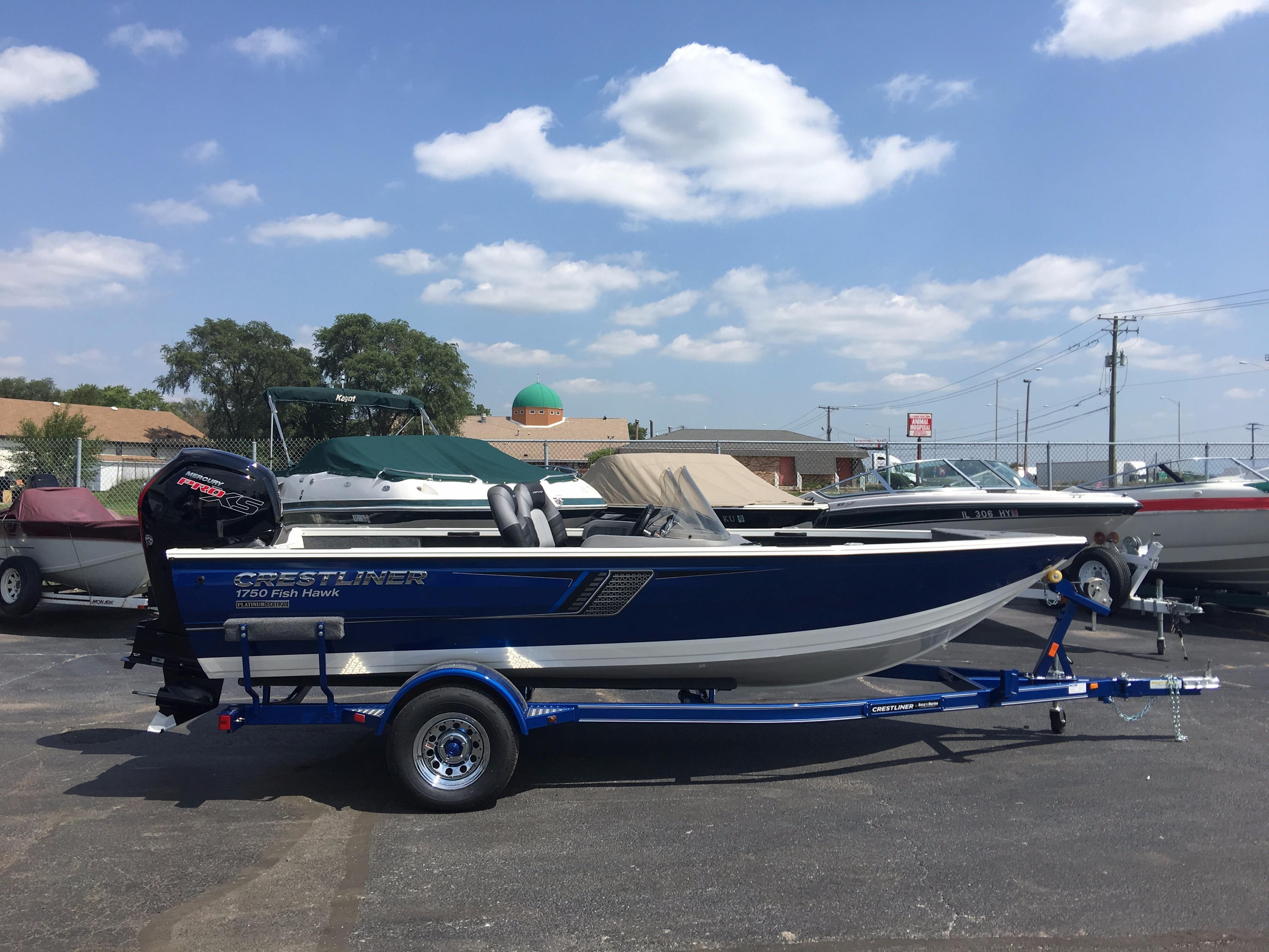 2018 crestliner 1750 fish hawk sc power boat for sale for Crestliner fish hawk