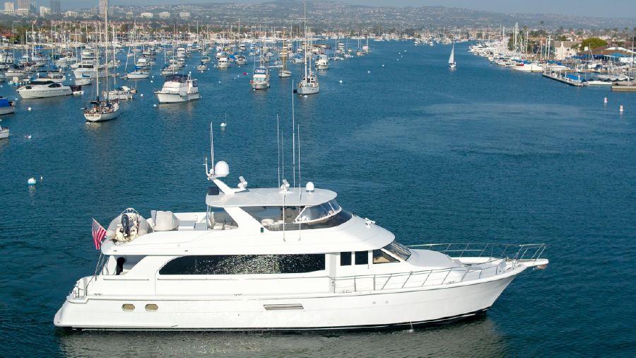 Hatteras 75 Cockpit Motoryacht for sale