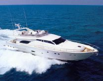 2004 Ferretti 810 Tip Top Condition