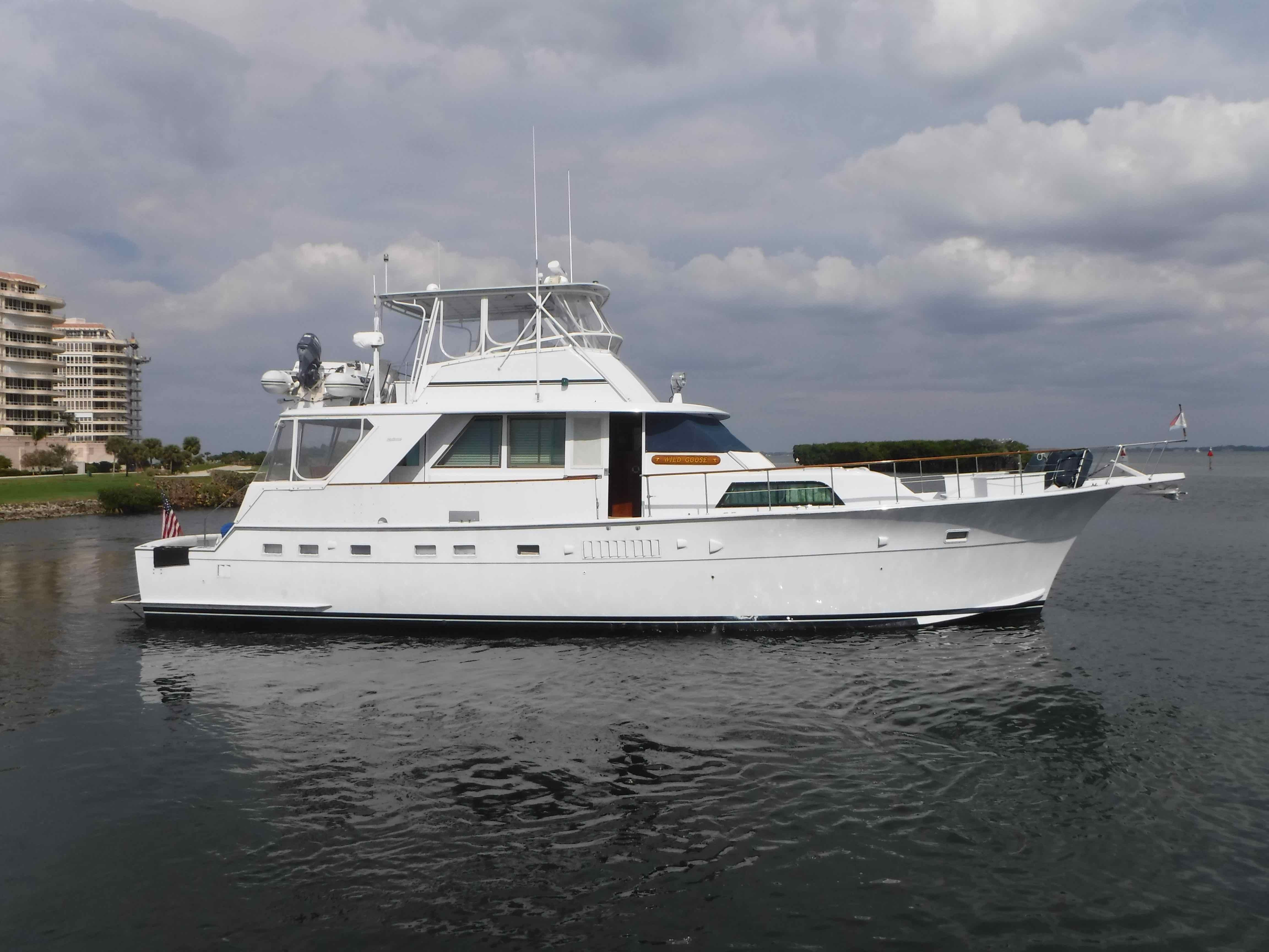 1977 Hatteras 58 Yacht Fisherman Power New And Used Boats