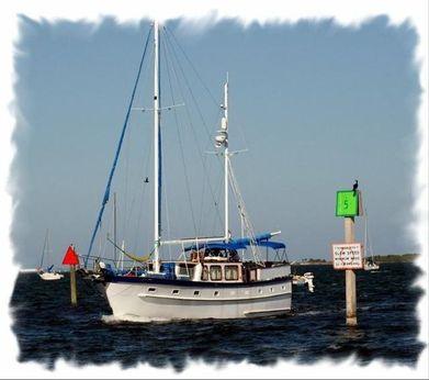 1981 Island Trader Marine Motor Sailer Ketch