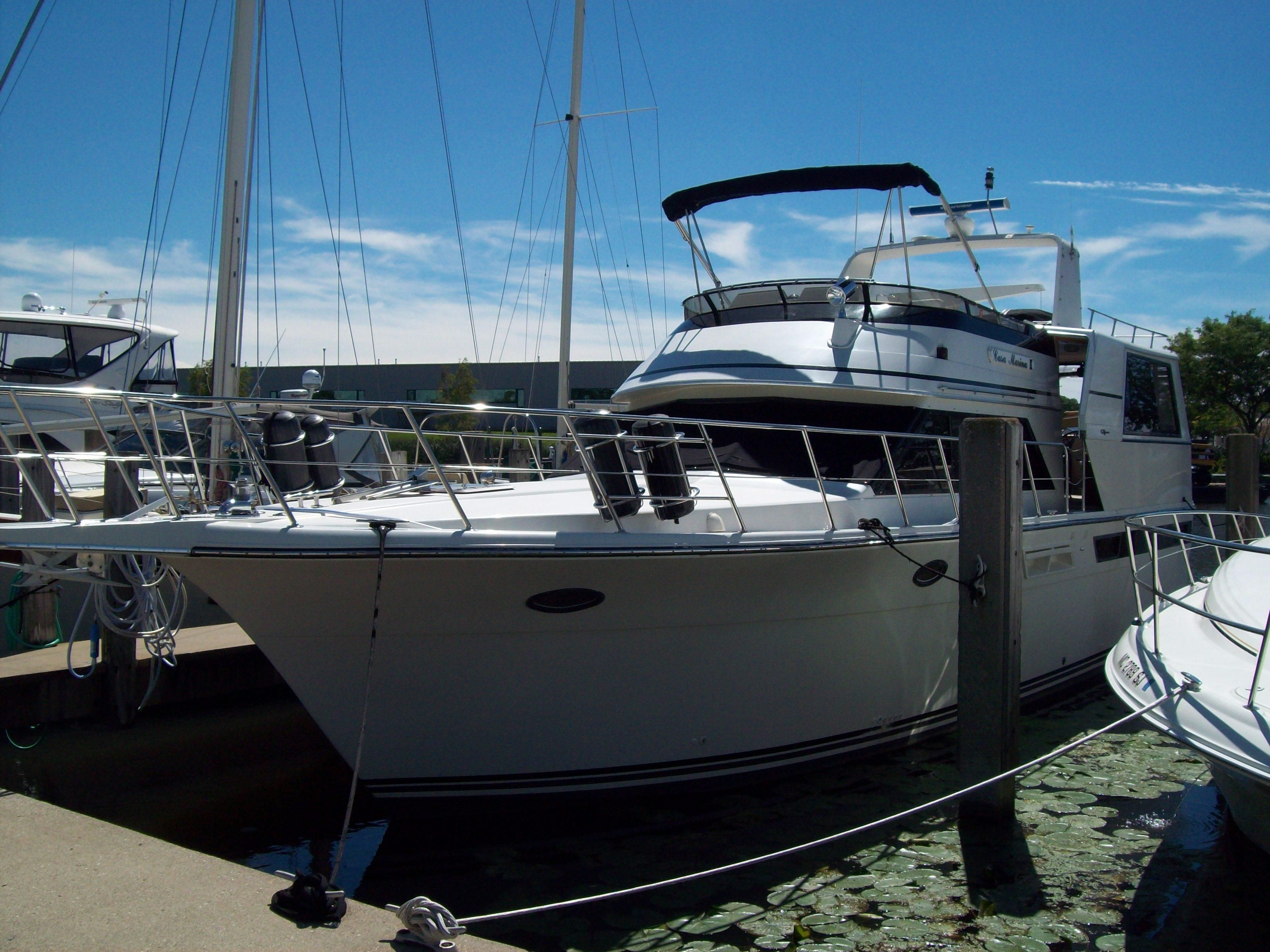 1990 californian 48 motor yacht power boat for sale www for Ocean yachts 48 motor yacht for sale