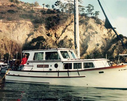 1981 Roughwater 36 motor sailer trawler