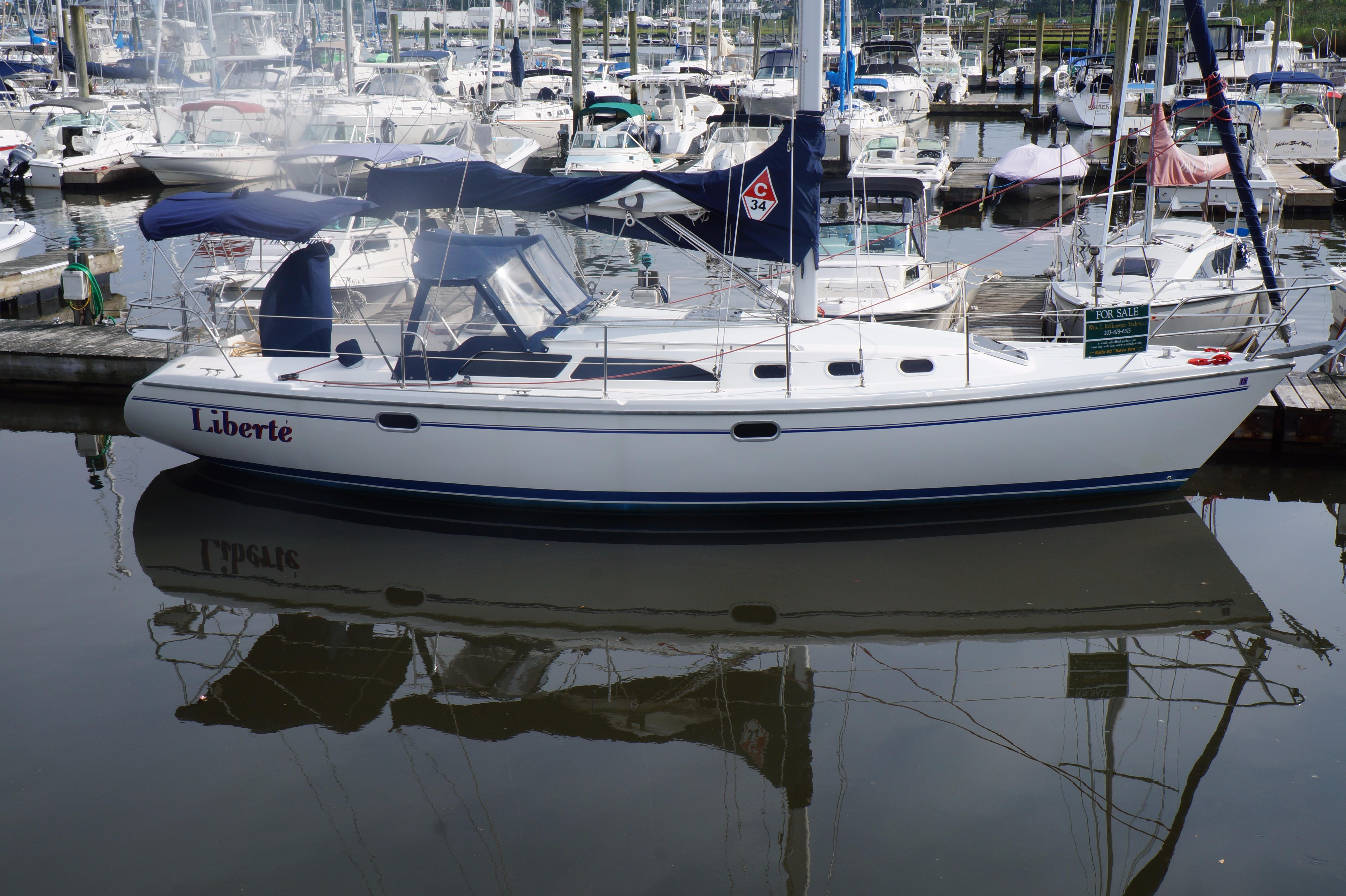 2001 catalina 34 mkii sail boat for sale www yachtworld com rh yachtworld com Catalina 34 Specs Catalina 34 Mkii Review