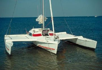 1992 Quorning Boats Dragonfly 800 Swing Wing