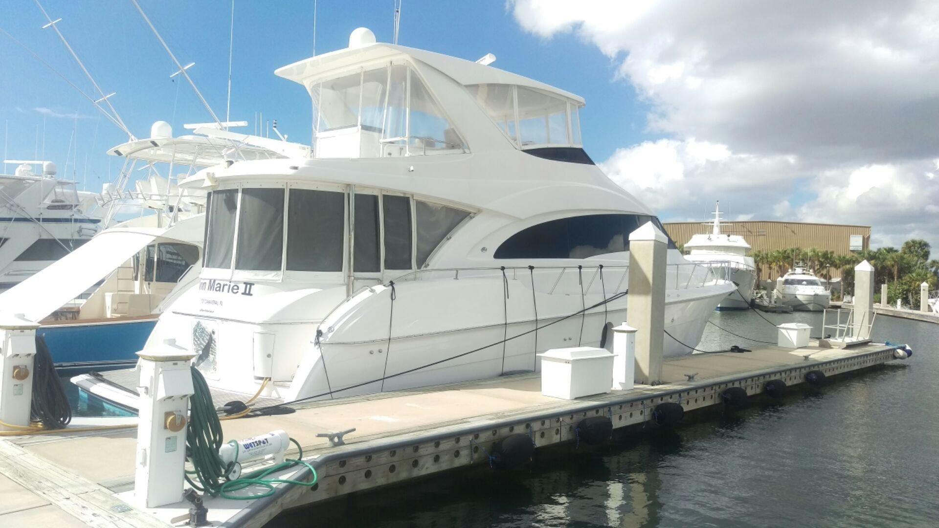 2010 hatteras 60 motor yacht motore barca in vendita www for Port motors west palm beach
