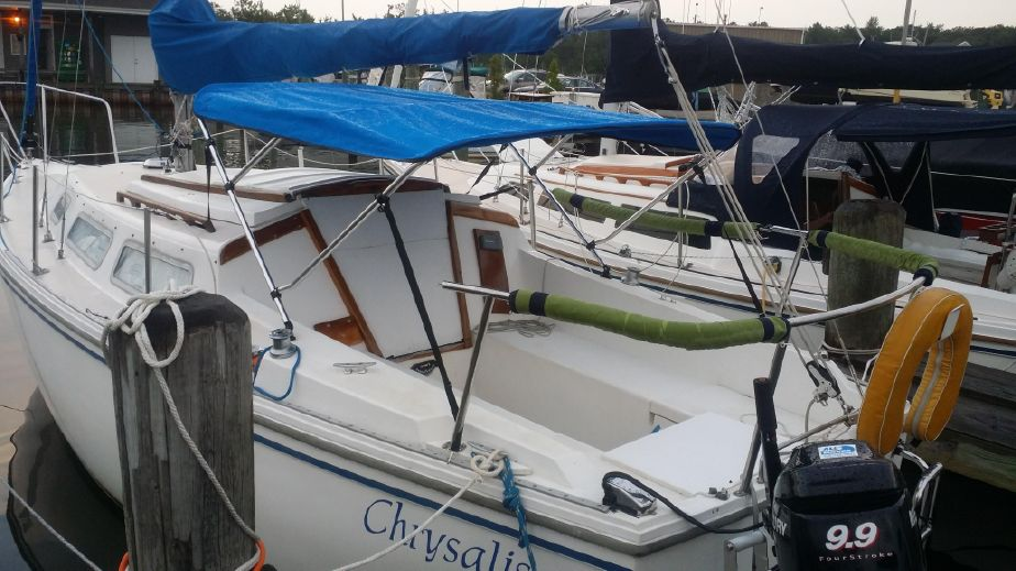 1978 Catalina 25 Sail New and Used Boats for Sale - www