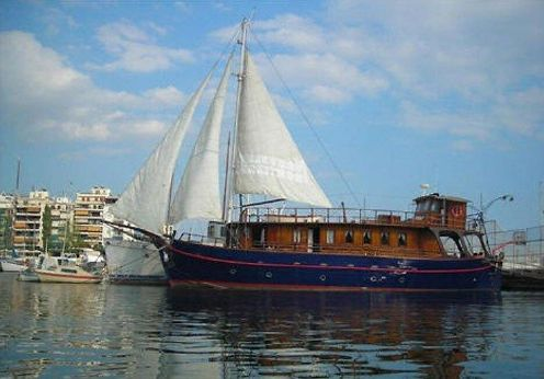1988 Greek Motorsailer 22m S/1505.4