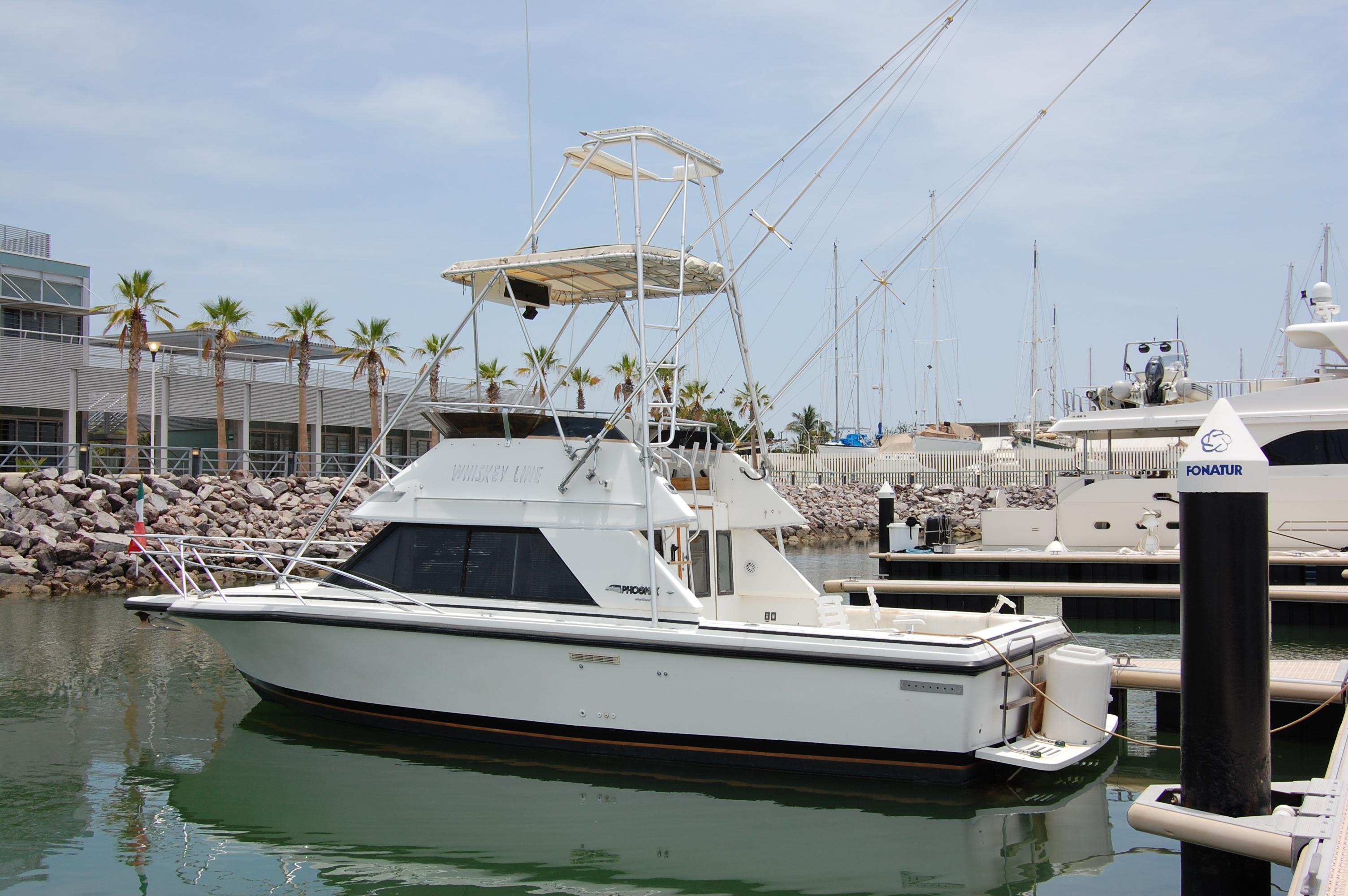 29' Phoenix Sport Fisher w/Trailer+Boat for sale!