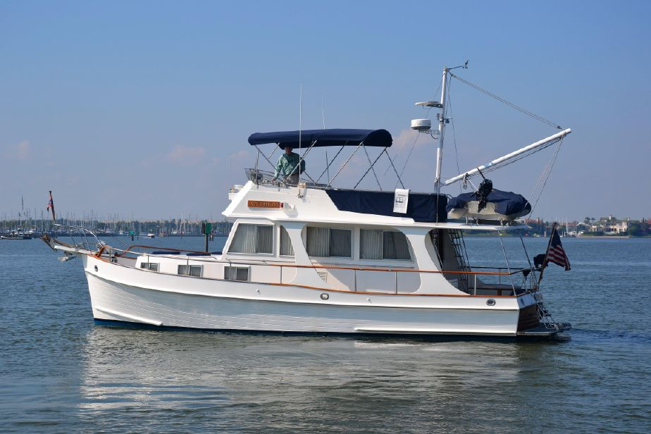 1994 Grand Banks 36 Europa Power Boat For Sale - www