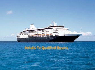 1993 Cruise Ship 1258/1605 Passengers - Stock No. S2043