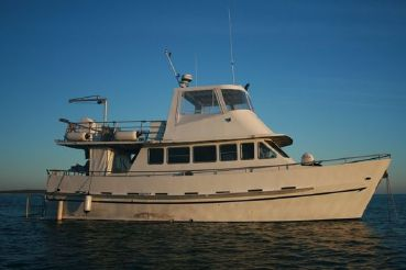 1997 Custom 46' Flybridge