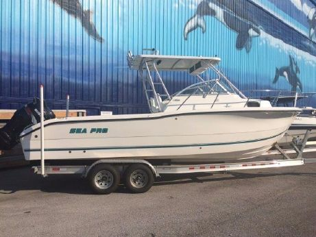 2002 Sea Pro 255 Walk Around