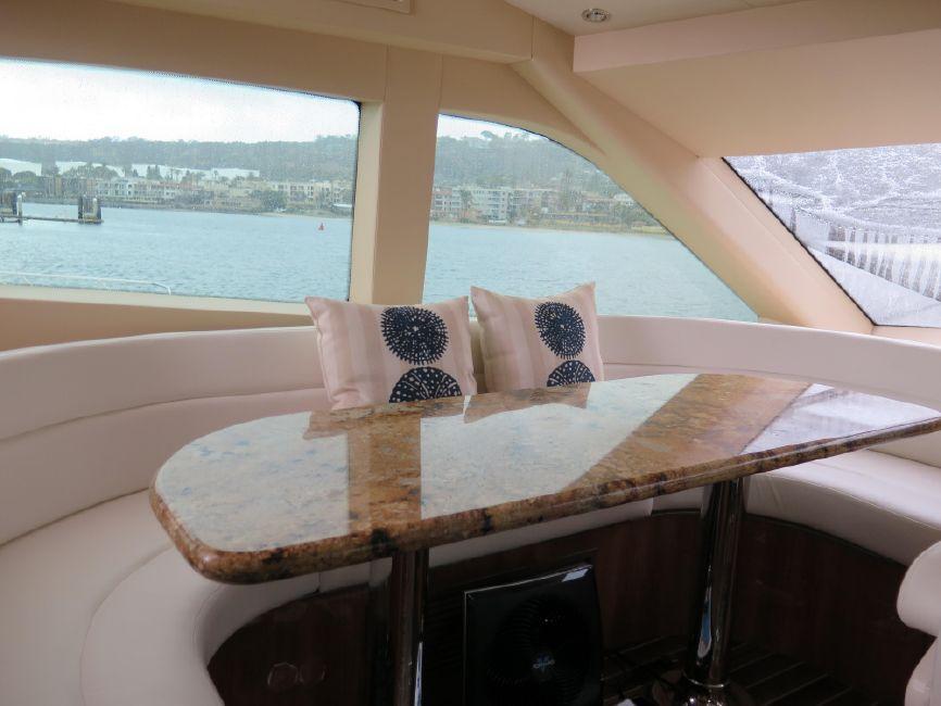 Hatteras 64 Motor Yacht Galley