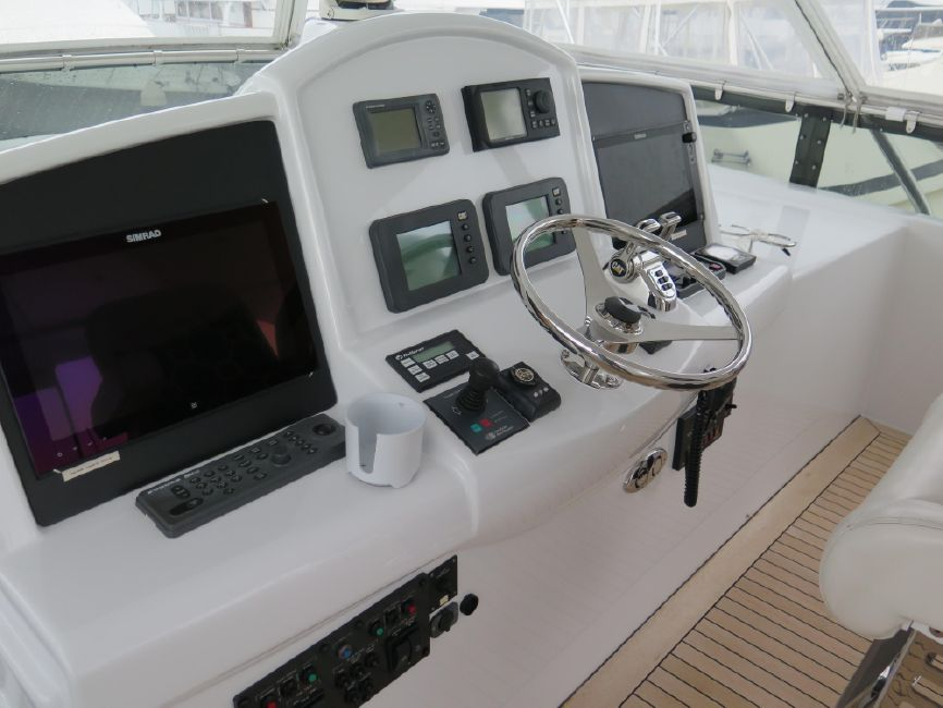 Hatteras 64 Luxury Yacht for sale in San Diego