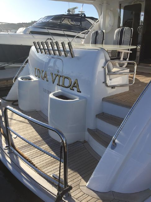 Hatteras 64 Luxury Yacht for sale in San Diego