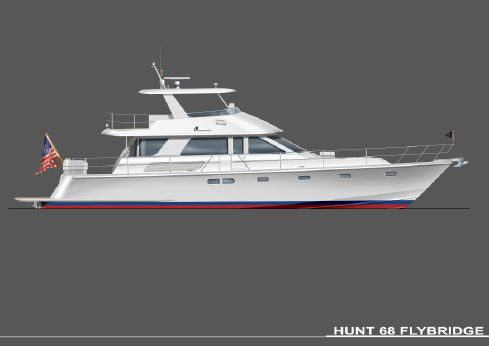 2016 Hunt Yachts 68 Flybridge Express